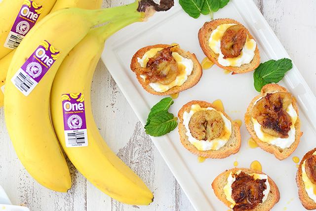 Caramelized Banana Crostini_Recipe Page