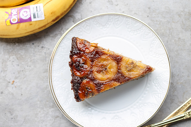 Paleo Banana Upside Down Cake_Rotated Recipe Page